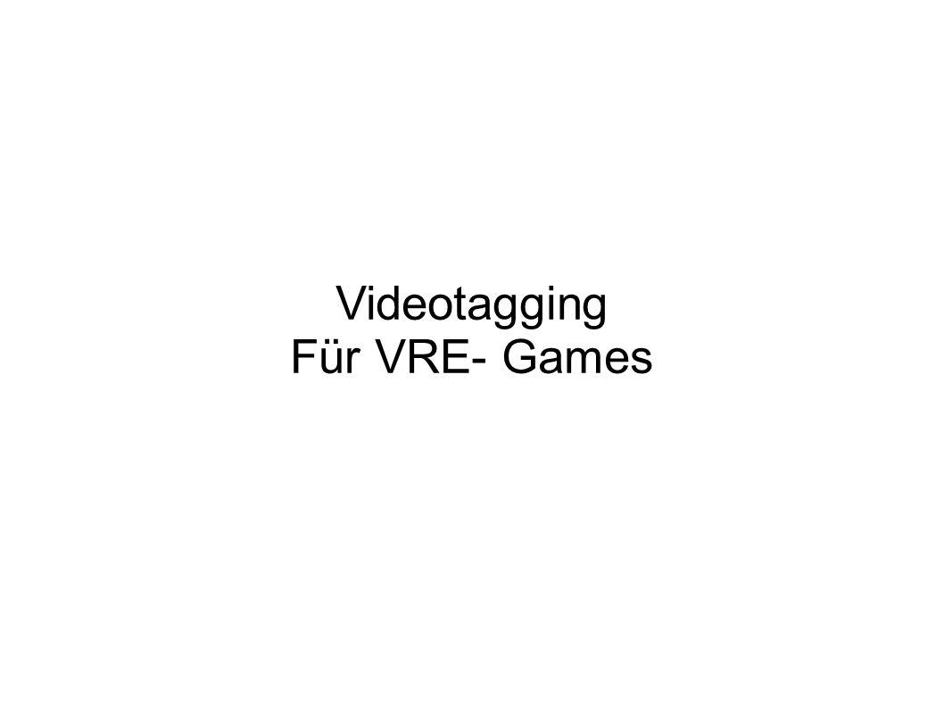 Videotagging Für VRE- Games