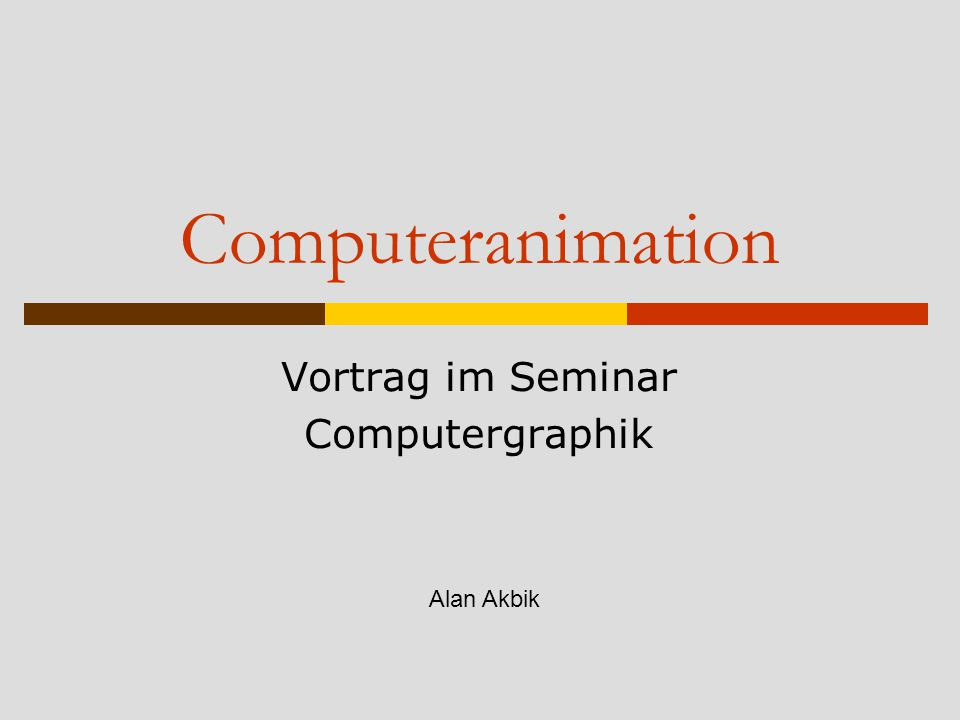 Alternativen zur linearen Interpolation  B-Splines http://www.public.asu.edu/~ambar/cagd/ bspline/ http://www.public.asu.edu/~ambar/cagd/ bspline/ http://www.cs.technion.ac.il/~cs234325/H omepage/Applets/applets/bspline/German Applet.html http://www.cs.technion.ac.il/~cs234325/H omepage/Applets/applets/bspline/German Applet.html  Explizites Skripten
