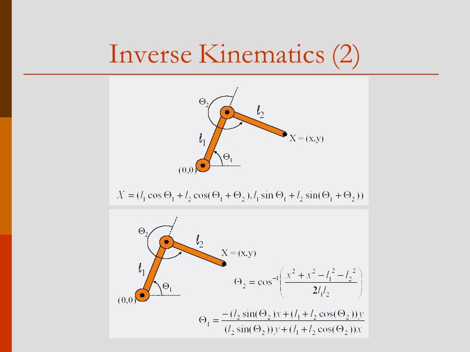 Inverse Kinematics (2)