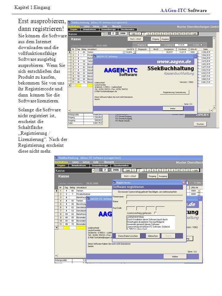 Datensätze bearbeiten Aktives Listenelement Neuer/leerer Datensatz Hier kann man ein neuen Datensatz eingeben Zum ersten Datensatz Zum letzten Datensatz Zum vorherigen Datensatz Zum nächsten Datensatz Aktive Datensatznummer Ein neuen Datensatz anfügen Aktiver Datensatz Aktiver Kursor Datensatzmarkierer AAGen-ITC Software Kapitel 15: Allgemeine Bearbeitungsinformationen