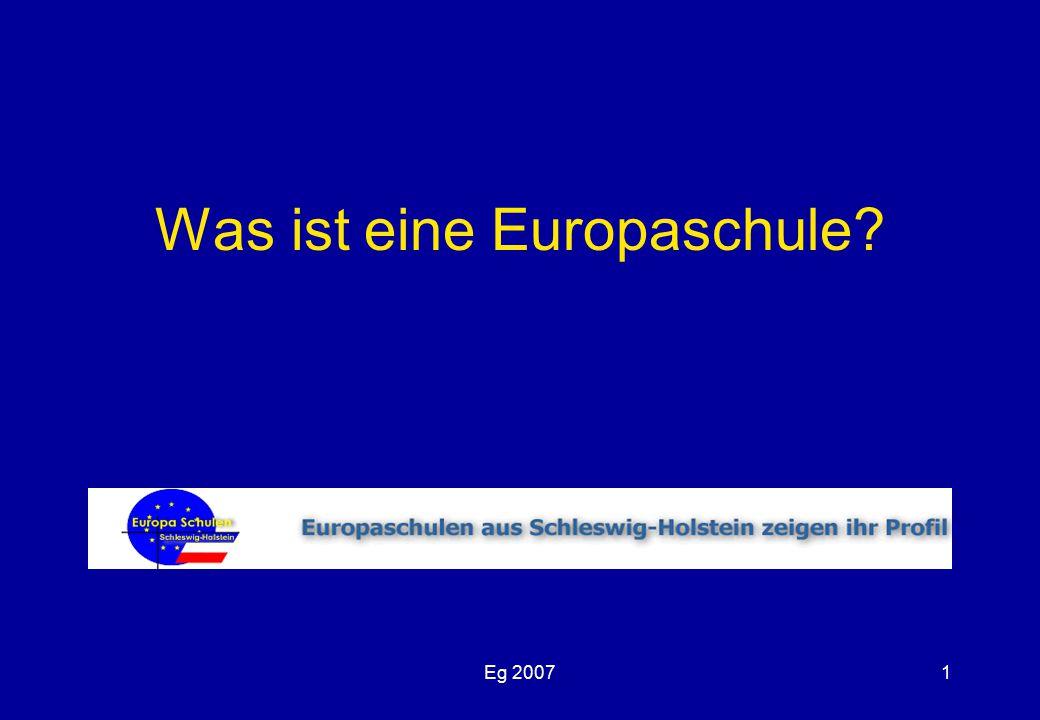 Eg 20071 Was ist eine Europaschule