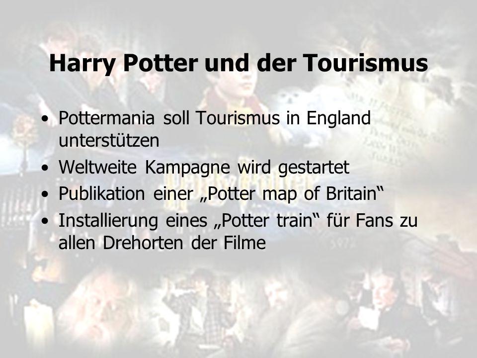 """Harry Potter und der Tourismus Pottermania soll Tourismus in England unterstützen Weltweite Kampagne wird gestartet Publikation einer """"Potter map of B"""