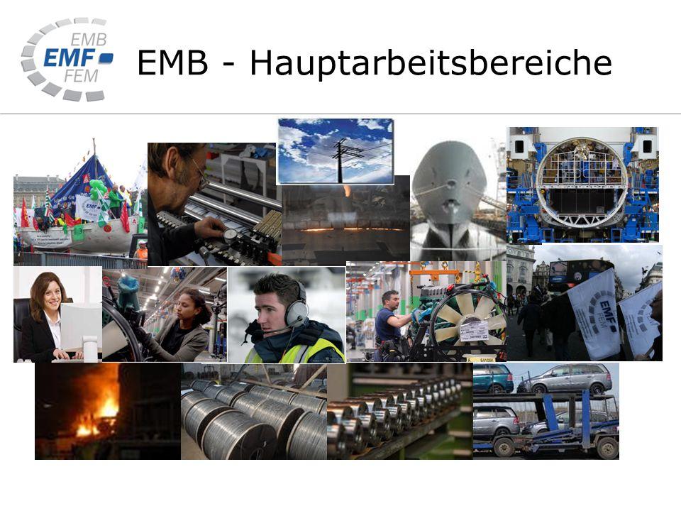 EMB - Hauptarbeitsbereiche