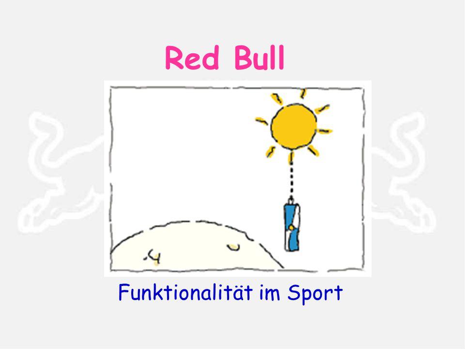 Red Bull Funktionalität im Sport
