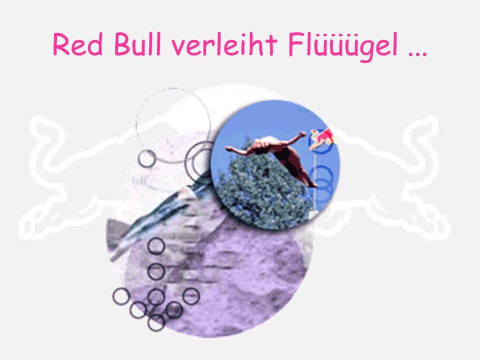 Red Bull verleiht Flüüügel...