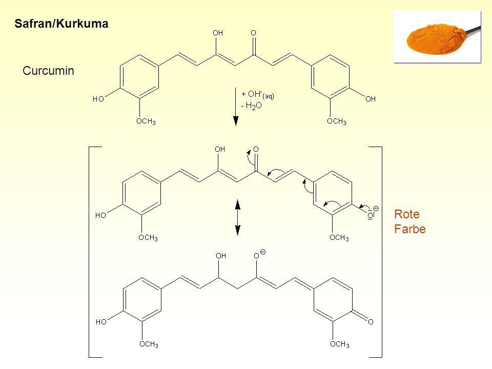 Safran/Kurkuma Curcumin Rote Farbe