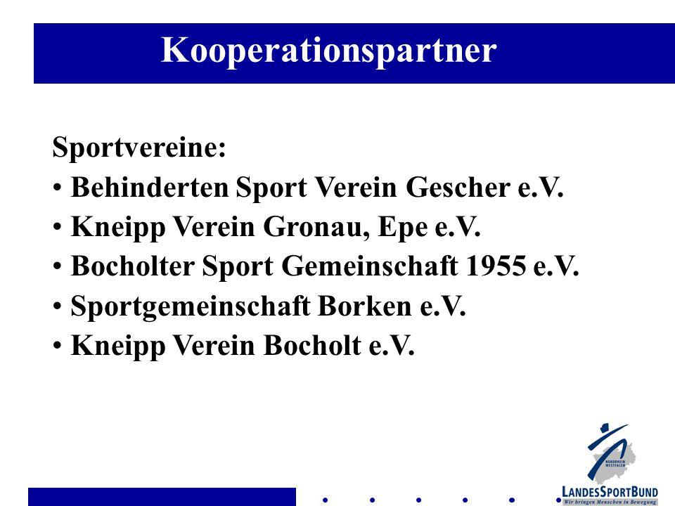 Sportvereine: Behinderten Sport Verein Gescher e.V.