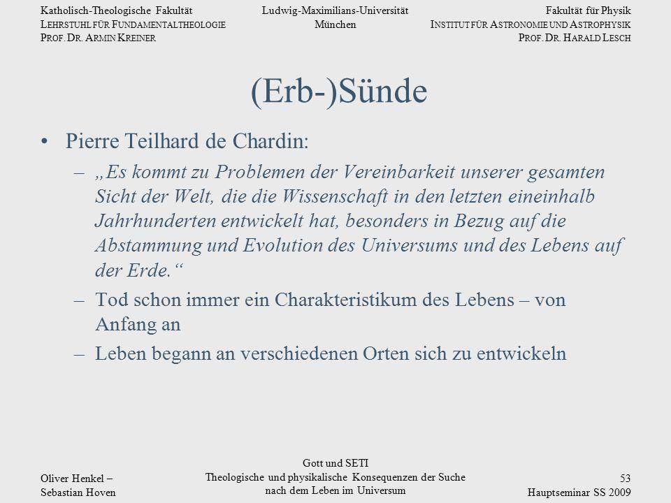 Fakultät für Physik I NSTITUT FÜR A STRONOMIE UND A STROPHYSIK P ROF.