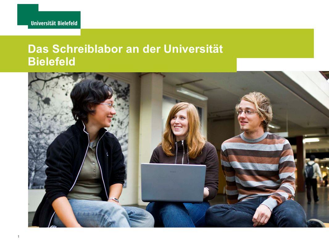 1 Das Schreiblabor an der Universität Bielefeld