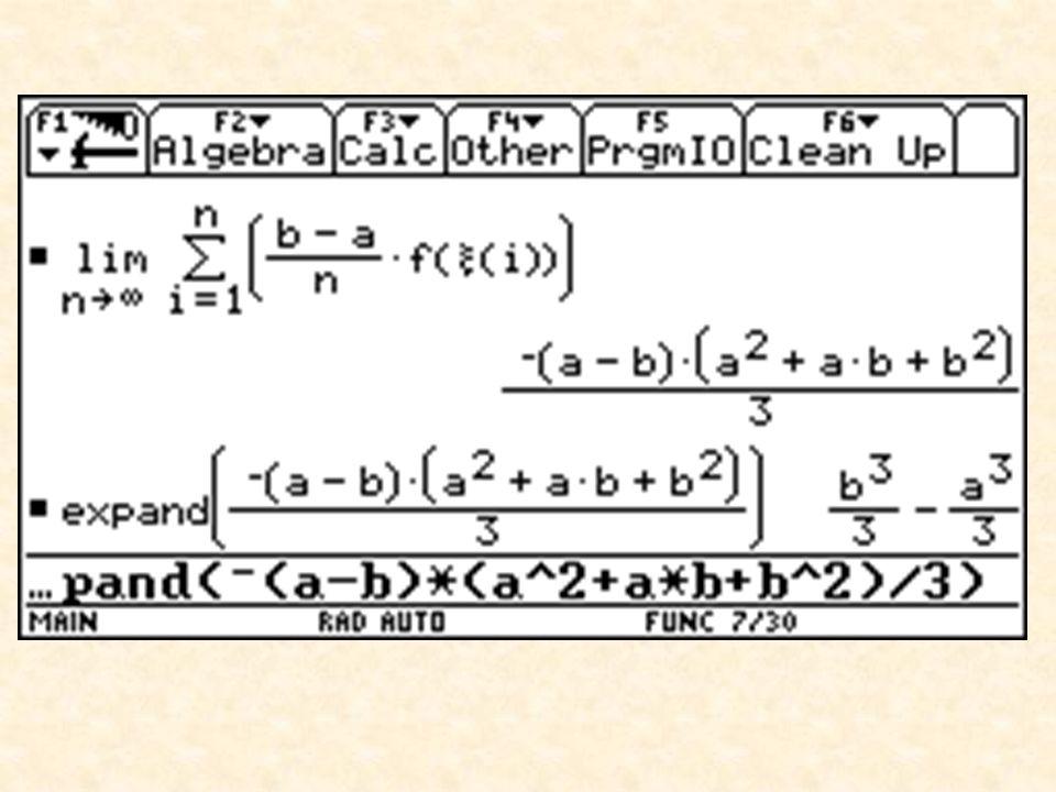 Zusammenfassung der Ergebnisse der österreichischen Technologieprojekte  Mehr schülerzentriertes, experimentelles Lernen  Mehr anwendungsorientierte Mathematik  Verschiebung der Tätigkeit vom Ausführen zum Planen  Verschiebung der Tätigkeit vom Rechnen zum Modellieren, Interpretieren und Begründen  Der Computer unterstützt nicht nur Kognition, er wird zu einem Teil der Kognition
