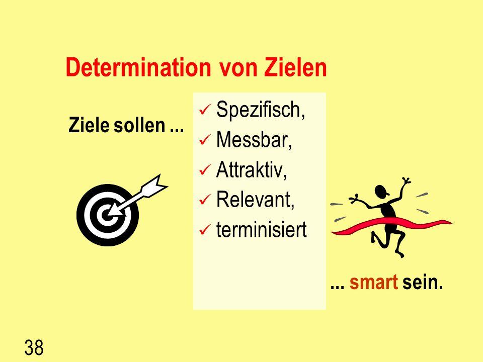 37 Regelkreis Vision Leitbild Strategie Organisationsziele MA Dynamische Kernkompetenzen P R O Z E S S E