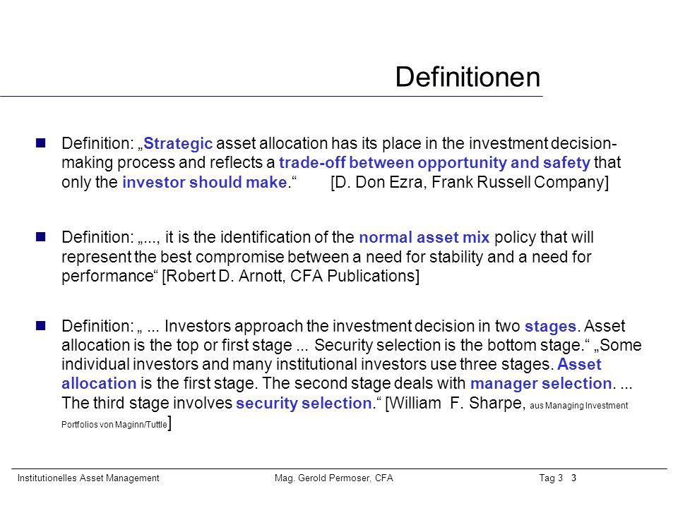 Tag 3 24Institutionelles Asset ManagementMag.