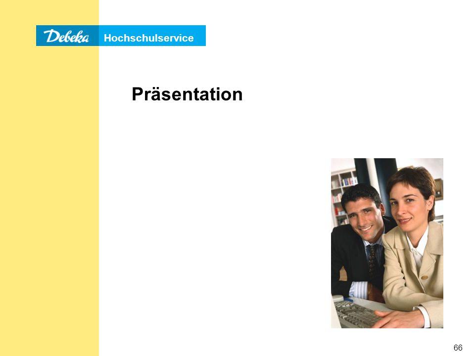 Hochschulservice 66 Präsentation