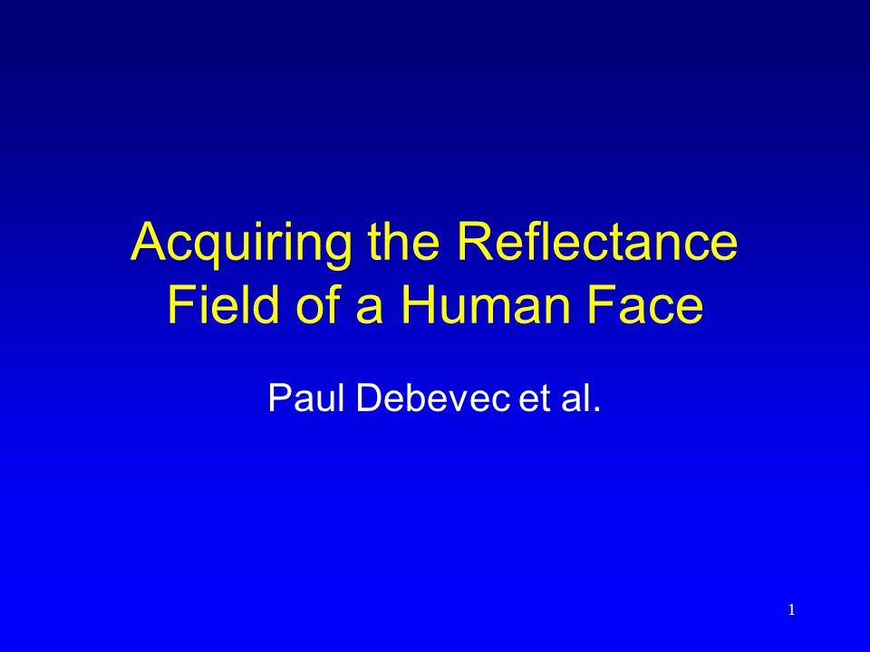 2 Background (1) Gesichtsmodellierung und –animation -3D-Photographie (Scanners)  Gesichtsgeometrie  Texture Map darüberlegen Problem: beleuchtungsabhängig -Abschätzung von Gesichtsmodellen direkt vom Bild