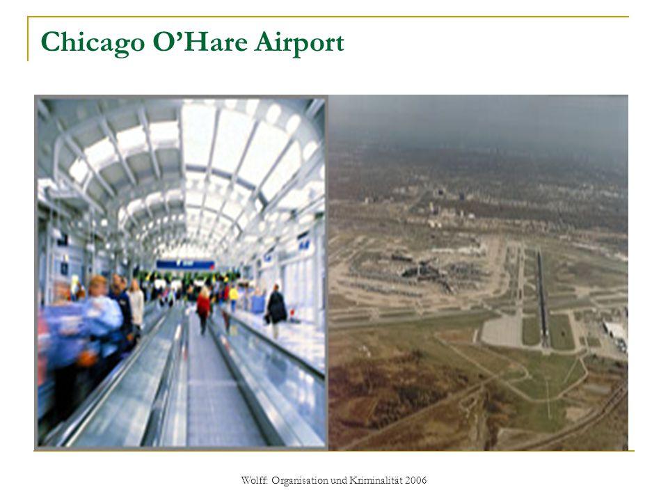Wolff: Organisation und Kriminalität 2006 Chicago O'Hare Airport