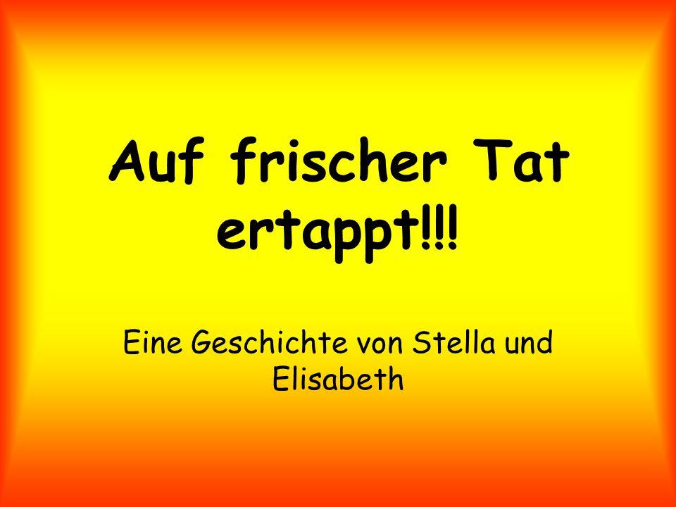 Auf frischer Tat ertappt!!! Eine Geschichte von Stella und Elisabeth