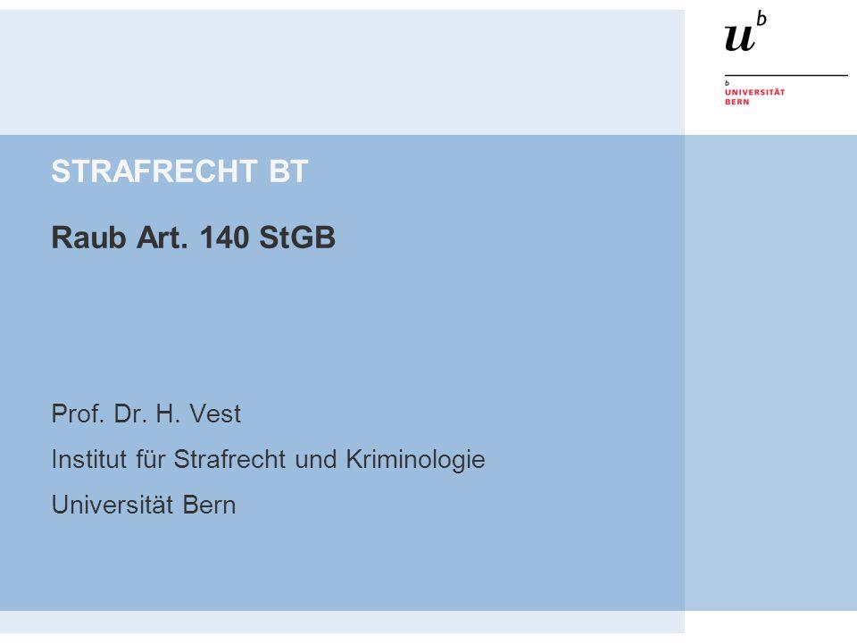 Prof.Dr. H. Vest Raub 2 Raub (Art.
