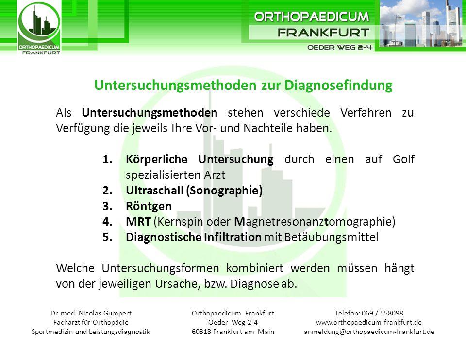 Telefon: 069 / 558098 www.orthopaedicum-frankfurt.de anmeldung@orthopaedicum-frankfurt.de Orthopaedicum Frankfurt Oeder Weg 2-4 60318 Frankfurt am Main Dr.