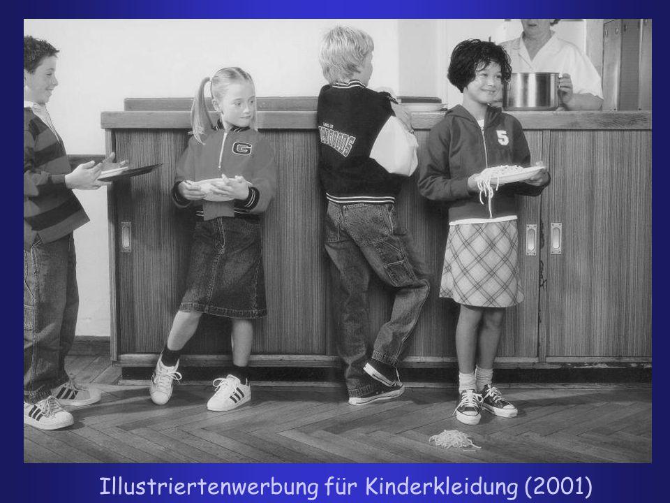 Illustriertenwerbung für Kinderkleidung (2001)
