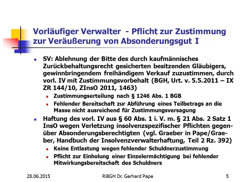 Deckungsanfechtung – Direktzahlung Anfechtbarkeit der (vertraglich nicht vereinbarten) Zahlung des Endmieters an den Vermieter auf Anweisung des Zwischenmieters (BGH, Urt.