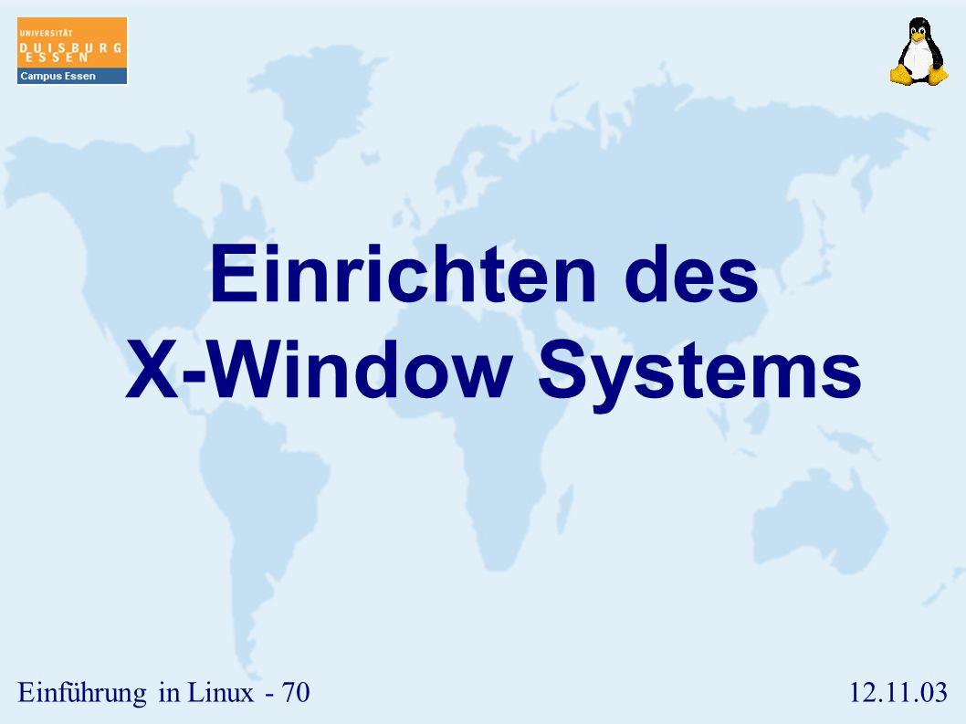12.11.03Einführung in Linux - 69 T-Modus ➢ Haben mehrere Nutzer Schreibrecht in einem Verzeichnis, z.B. /tmp, so sind sie in der Lage, gegenseitig Dat