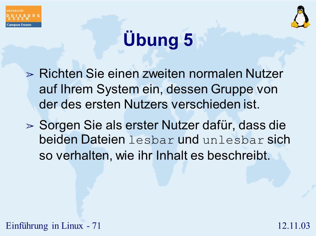 12.11.03Einführung in Linux - 70 Einrichten des X-Window Systems