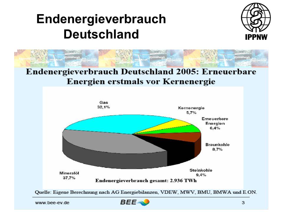 Endenergieverbrauch Deutschland