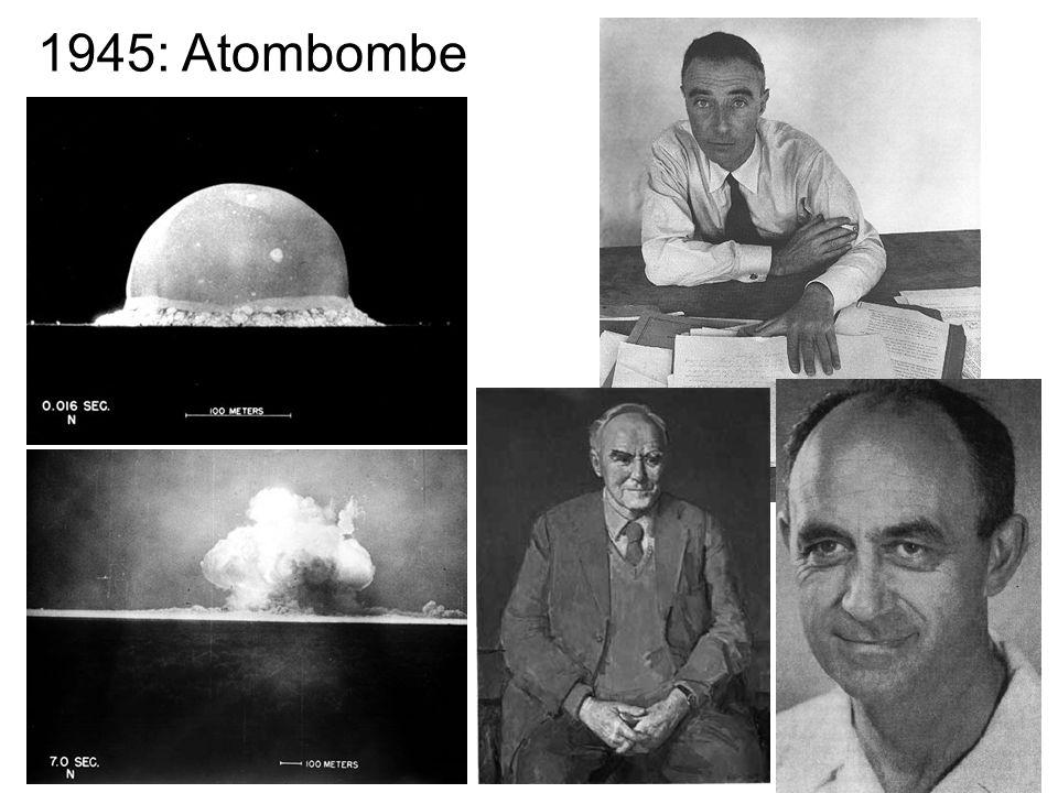 20 1945: Atombombe