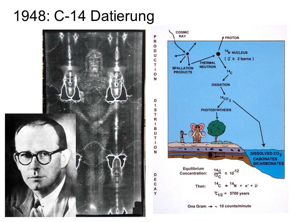 22 1948: C-14 Datierung