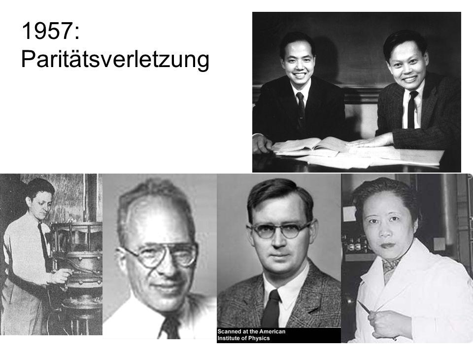 25 1957: Paritätsverletzung
