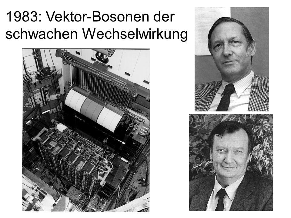 30 1983: Vektor-Bosonen der schwachen Wechselwirkung