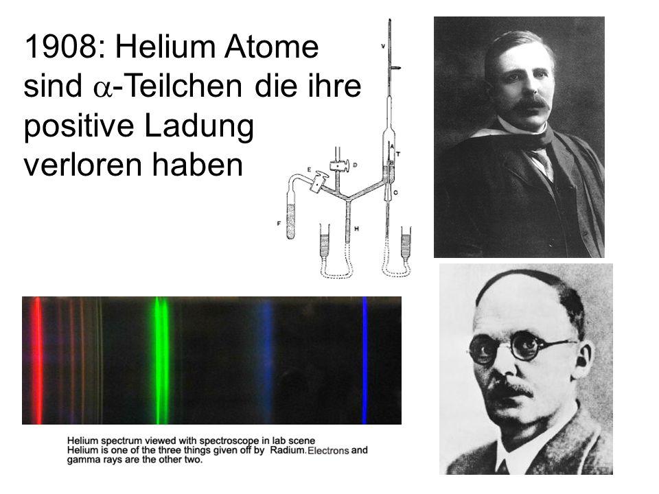36 Wichtige Experimente 1.Die Entdeckung des Kerns (Rutherford) 2.