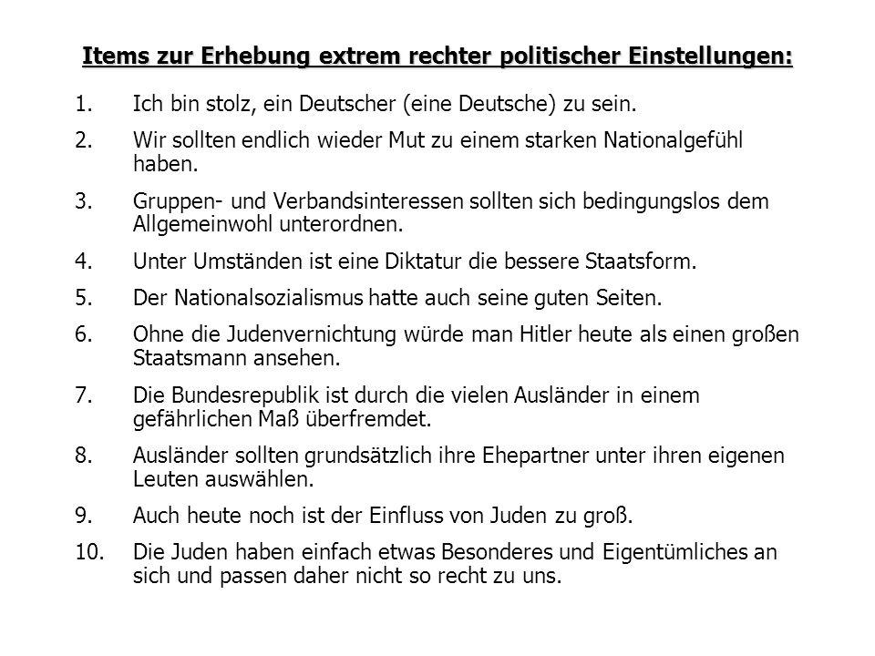1.Ich bin stolz, ein Deutscher (eine Deutsche) zu sein.