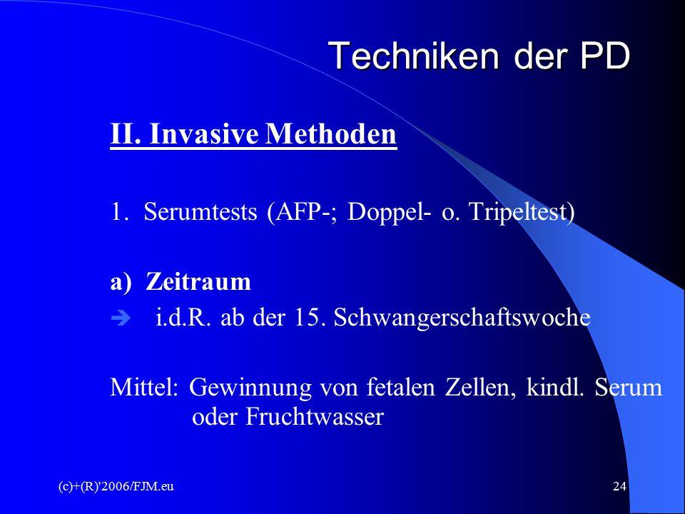 (c)+(R) 2006/FJM.eu23 Biometriemaße 2. Screening – 19. – 22. SSW 3. Screening - 29. – 32. SSW