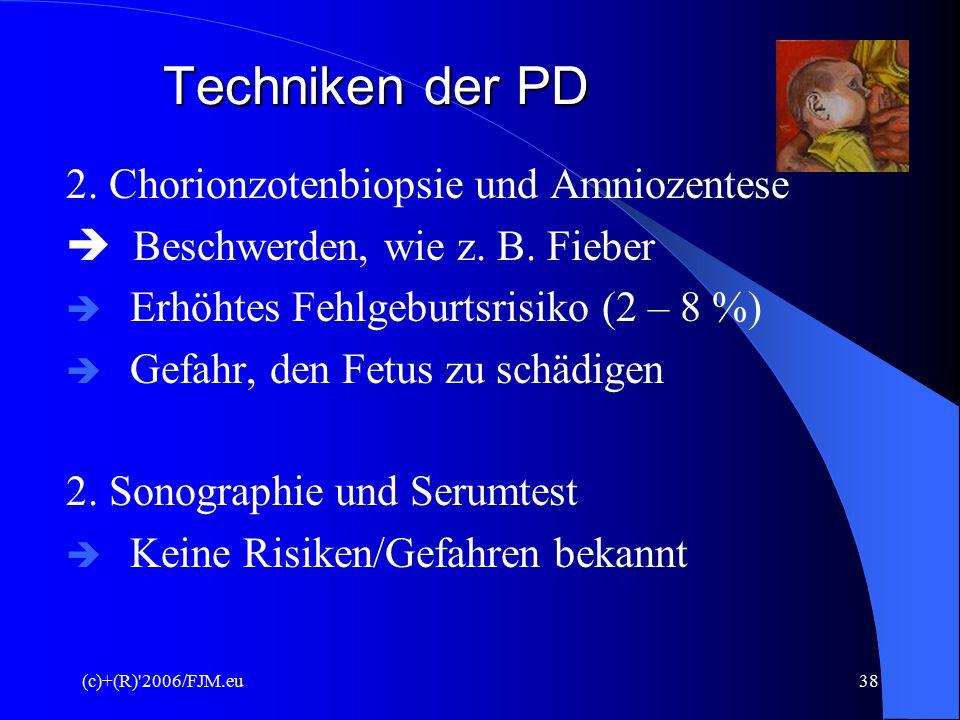 (c)+(R) 2006/FJM.eu37Neuralrohrdefekt Offener Rücken/Schädel
