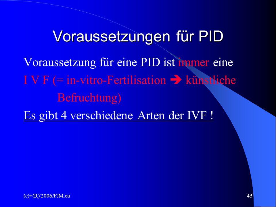 (c)+(R) 2006/FJM.eu44 Mendelsche Gesetze