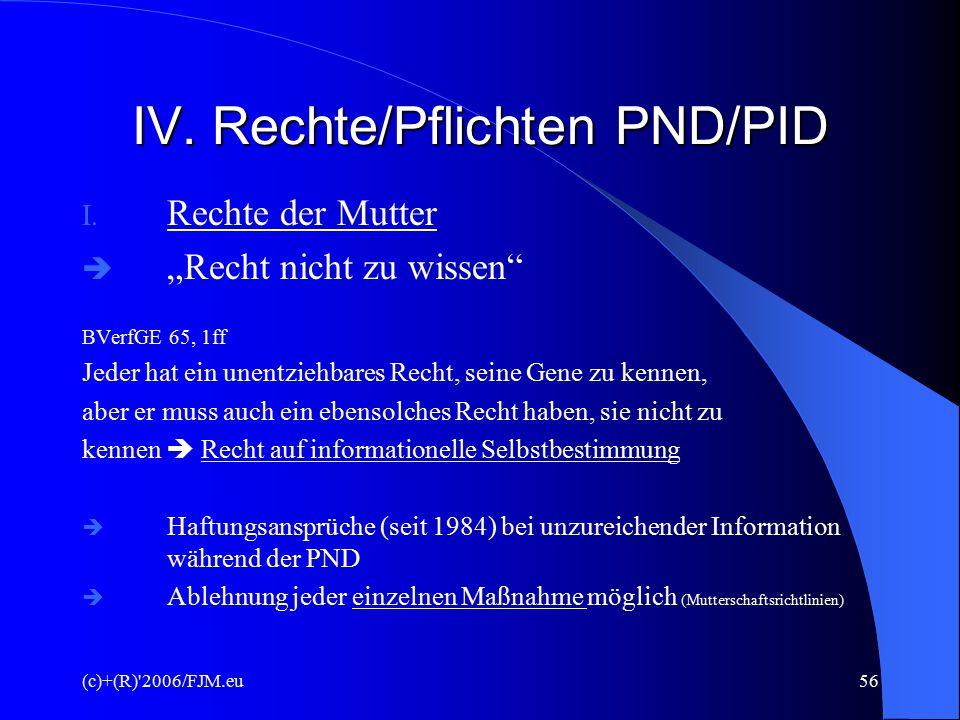 (c)+(R) 2006/FJM.eu55 GESETZLICHE REGELUNG Grundgesetz der BRD (v.