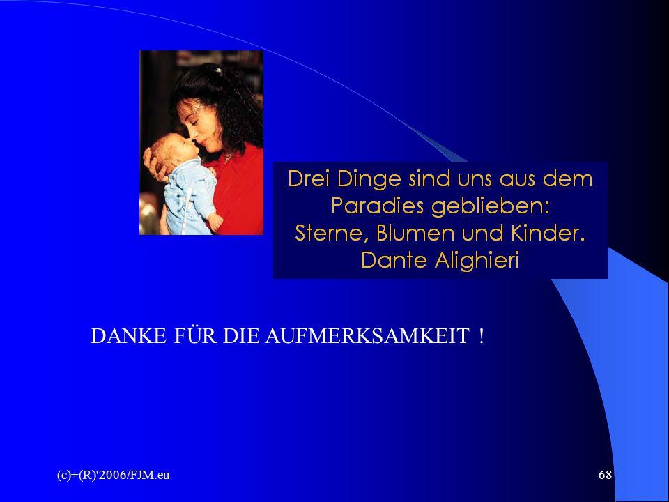 (c)+(R) 2006/FJM.eu67 DAS ABBILD GOTTES Wisst ihr nicht, dass ihr Tempel GOTTES seid und dass der GEIST GOTTES in euch wohnt.
