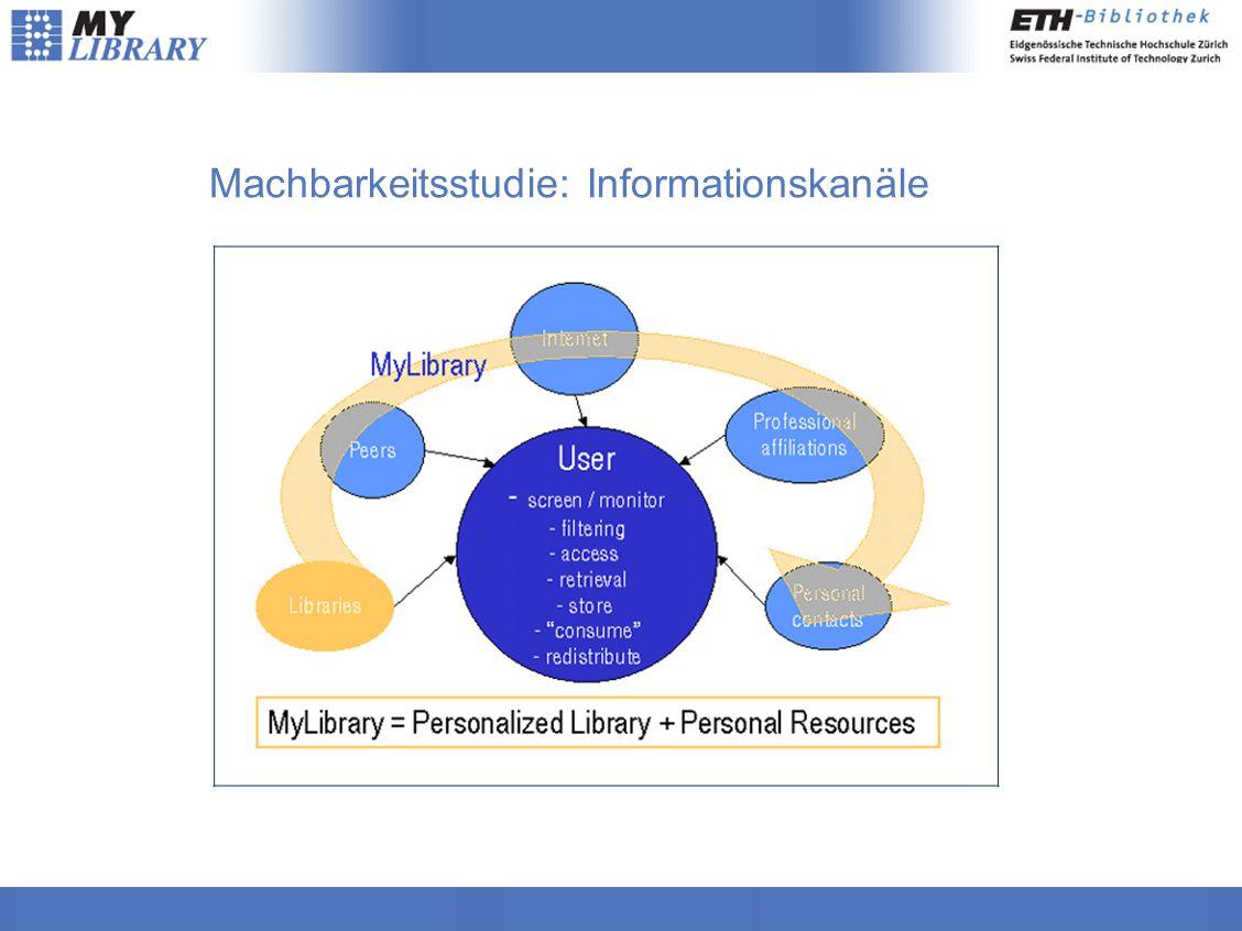 Machbarkeitsstudie: Informationskanäle