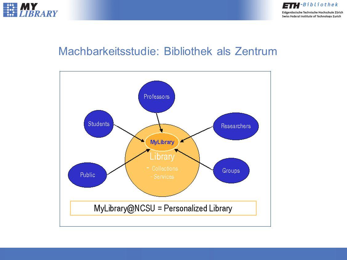 Machbarkeitsstudie: Bibliothek als Zentrum