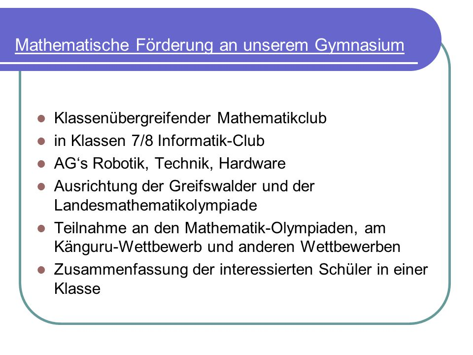 Fremdsprachen am A.-v.-Humboldt-Gymnasium Ab 5.Klasse:Englisch Ab 7.