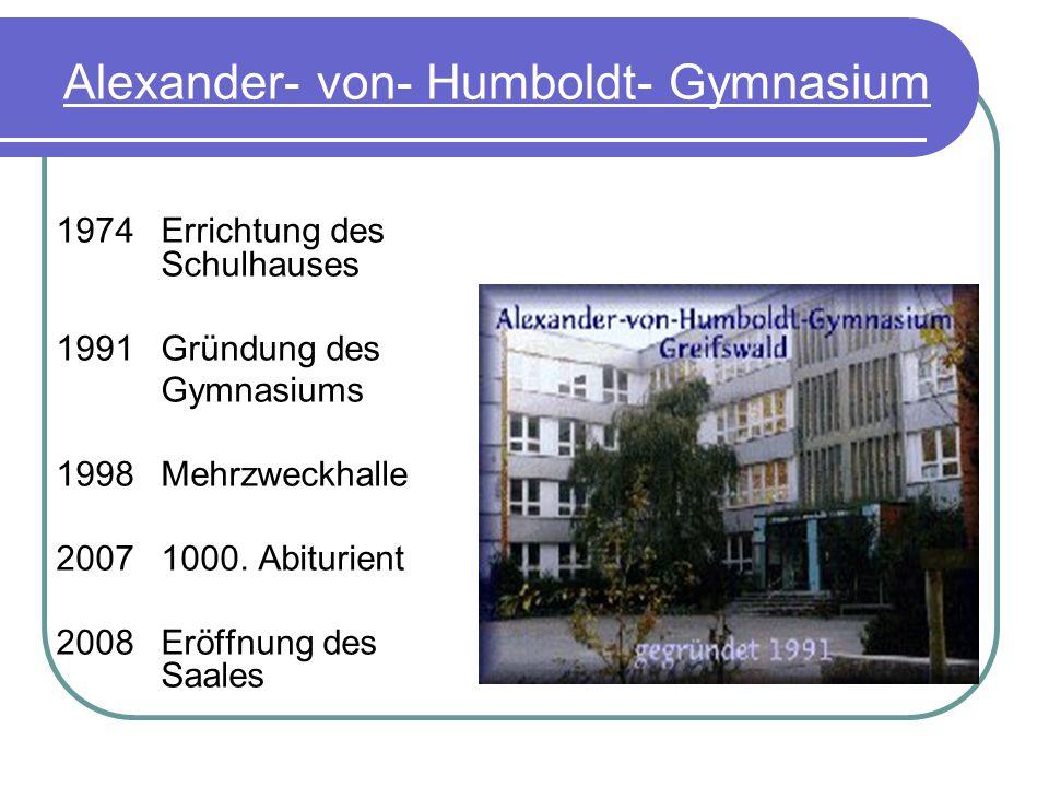 Alexander von Humboldt 1769- 1862 Universalgelehrter, Naturwissenschaft- ler, Humanist Wiederentdecker Amerikas