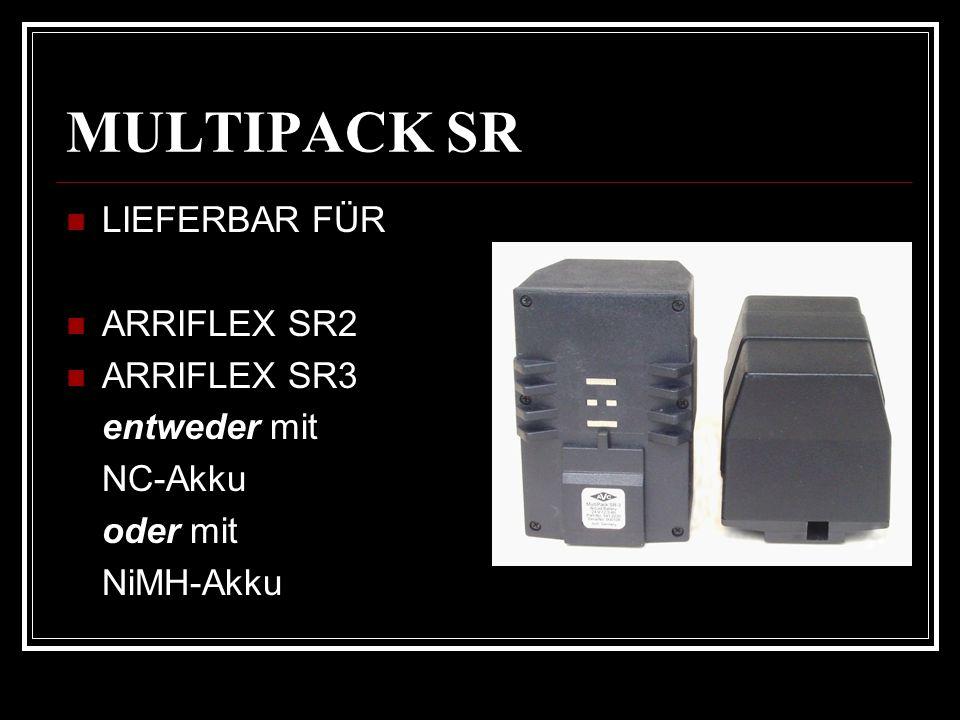 LIEFERBAR FÜR ARRIFLEX SR2 ARRIFLEX SR3 entweder mit NC-Akku oder mit NiMH-Akku