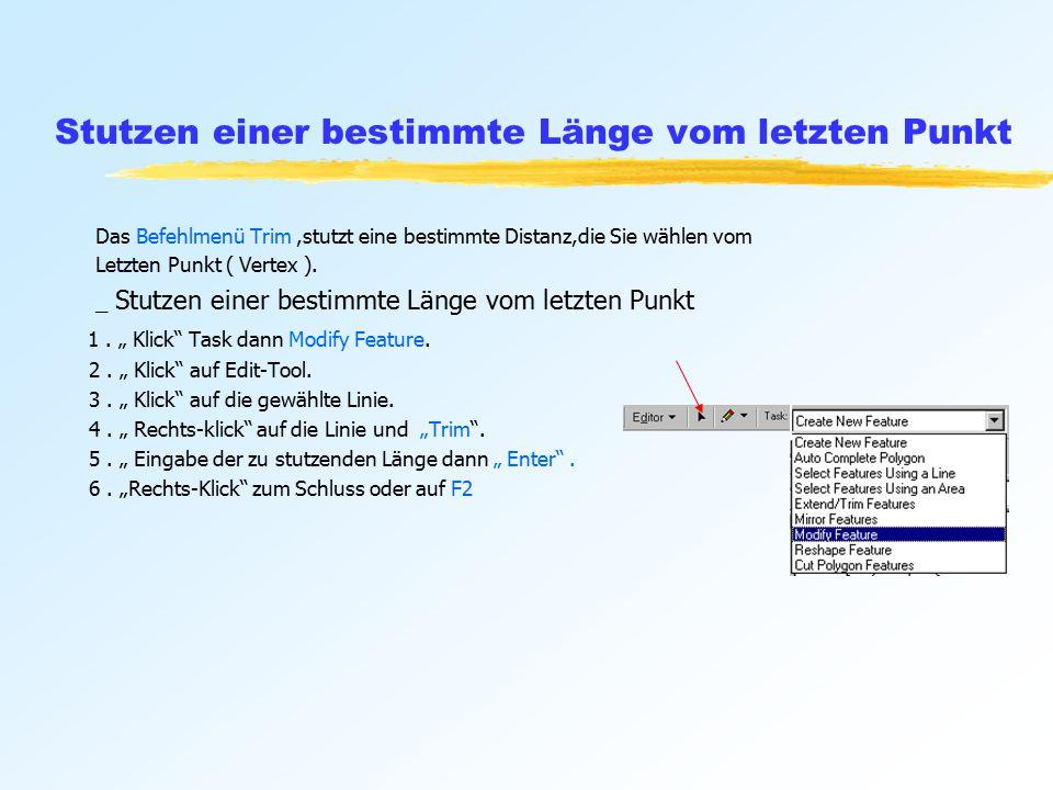 Ansehen des Attribut-Fensters 1.Klick auf Edit Tool.