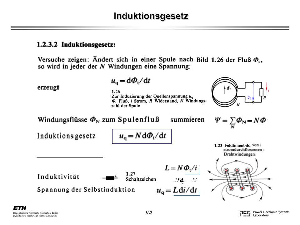 Induktionsgesetz V-2