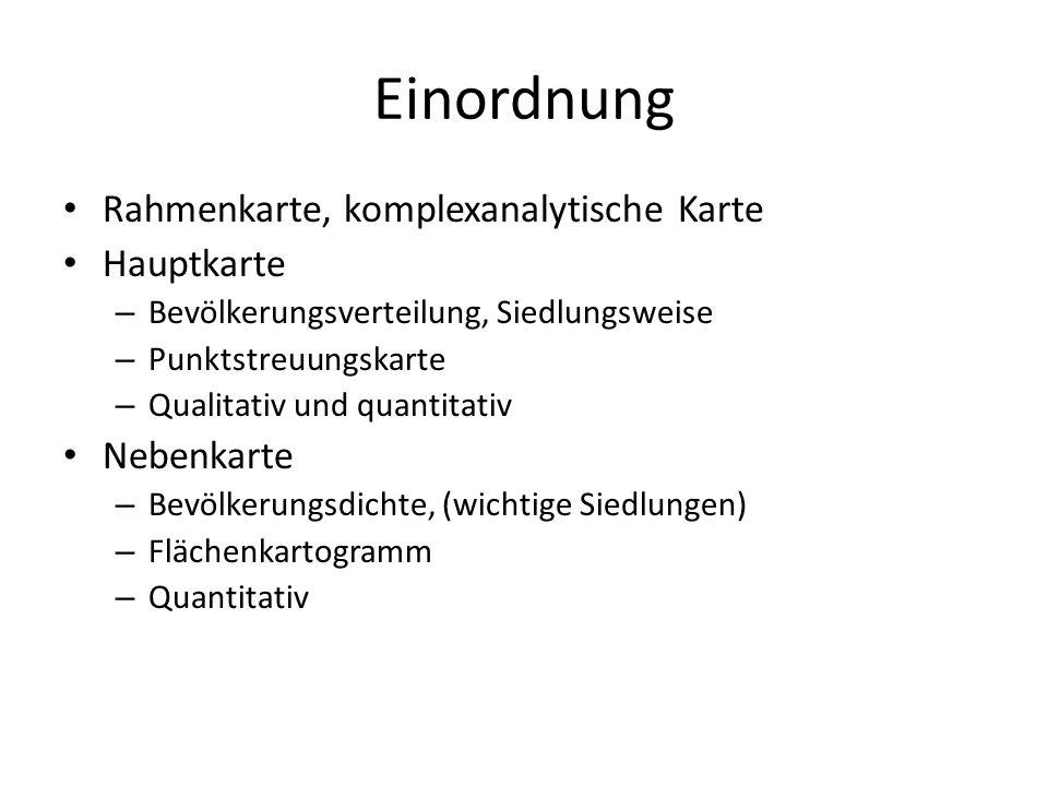 Siedlungsweise Qualitatives Merkmal – Dauersiedlungsraum Geschlossene Siedlungen Streusiedlungen – Periodisch besiedeltes Geb.
