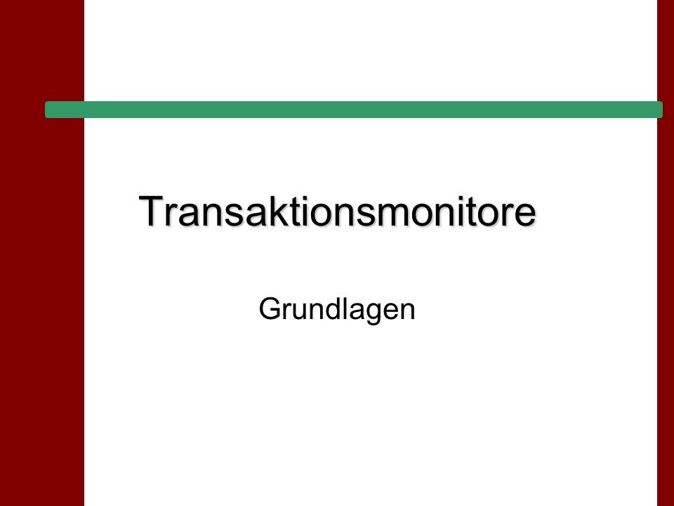 28.06.2015 Seite 2 Andreas Hähnel Seminar Großrechner- aspekte Übersicht 1.Transaktionen & Co 2.2-Tier- / 3-Tier-Konfiguration 3.Stored Procedures 4.Transaktionsmonitore 5.Vergleich