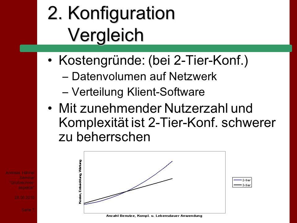28.06.2015 Seite 18 Andreas Hähnel Seminar Großrechner- aspekte 4.