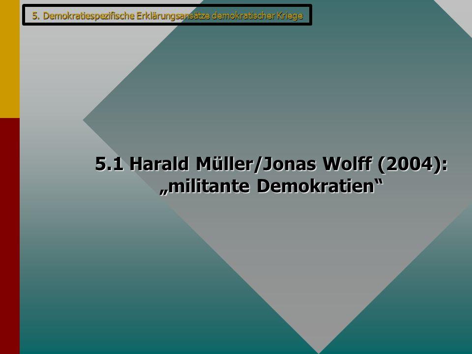 "5.1 Harald Müller/Jonas Wolff (2004): ""militante Demokratien"""