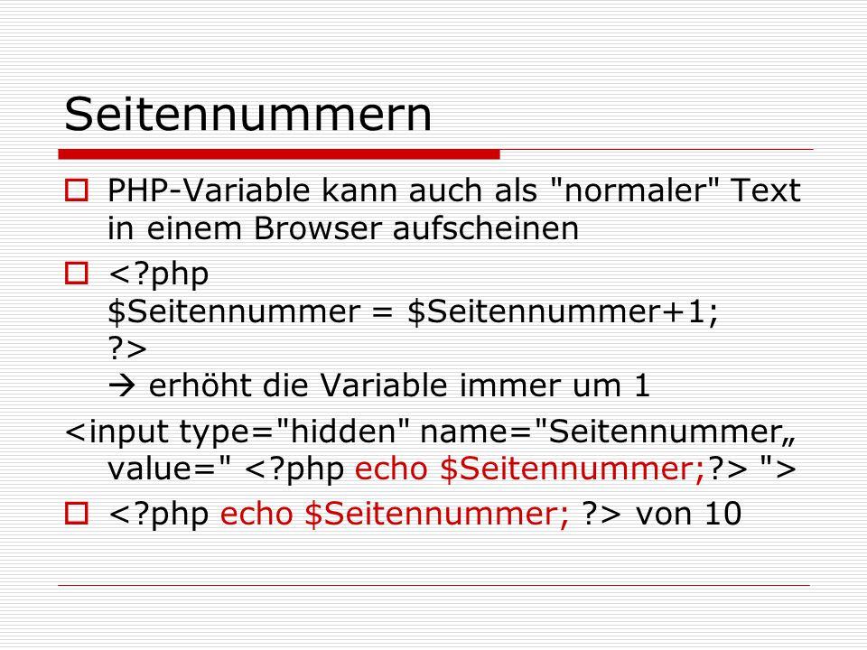 """Verzweigungen if($variable== 1 ) {$adapt=""""Seite1.php ; include(""""Seite1.php );} elseif($variable==""""2 ) {$adapt=""""Seite3.php ; include(""""Seite3.php );} else {$adapt= ende.php ; include(""""ende.php );} name=f1>"""